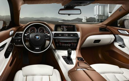 Bmw s rie 6 gran coup for Bmw serie 6 interieur