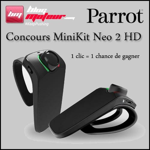 Concours Parrot MiniKit Neo 2 HD