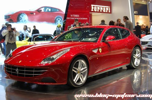 ferrari officialise le prix de sa ff. Black Bedroom Furniture Sets. Home Design Ideas