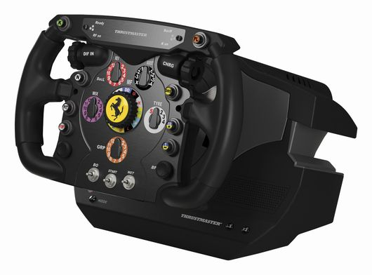 thrustmaster un volant ferrari f1 pour ps3 pc. Black Bedroom Furniture Sets. Home Design Ideas