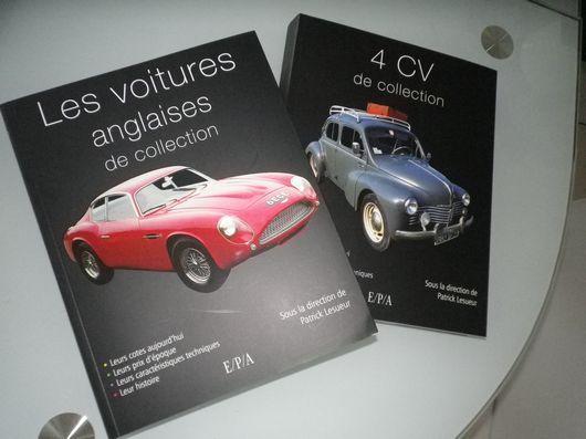 Voitures Anglaises et 4CV de Collection, deux livres à découvrir
