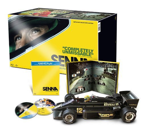 Senna le Film, Collector Edition Triple Play