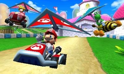 Test Mario Kart 7 sur Nintendo 3DS