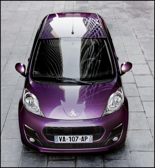 nouvelle peugeot 107 cuv e 2012 images et d tails. Black Bedroom Furniture Sets. Home Design Ideas