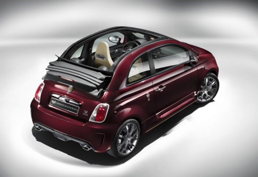 fiat 500 abarth 695 tributo maserati luxe et sportivit. Black Bedroom Furniture Sets. Home Design Ideas