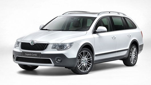 Skoda Superb Offroad