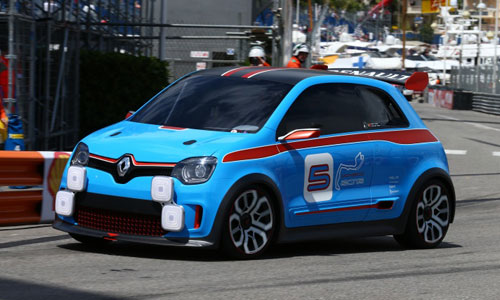 GP de Monaco : le Renault Twin'Run en guest star
