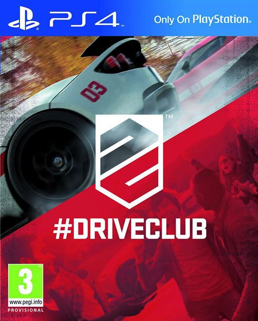 DriveClub PS4 jaquette