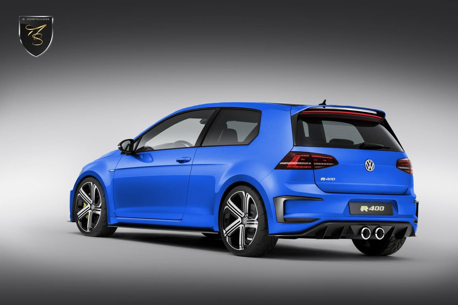 volkswagen golf r400 de nouvelles images et le tarif d voil. Black Bedroom Furniture Sets. Home Design Ideas