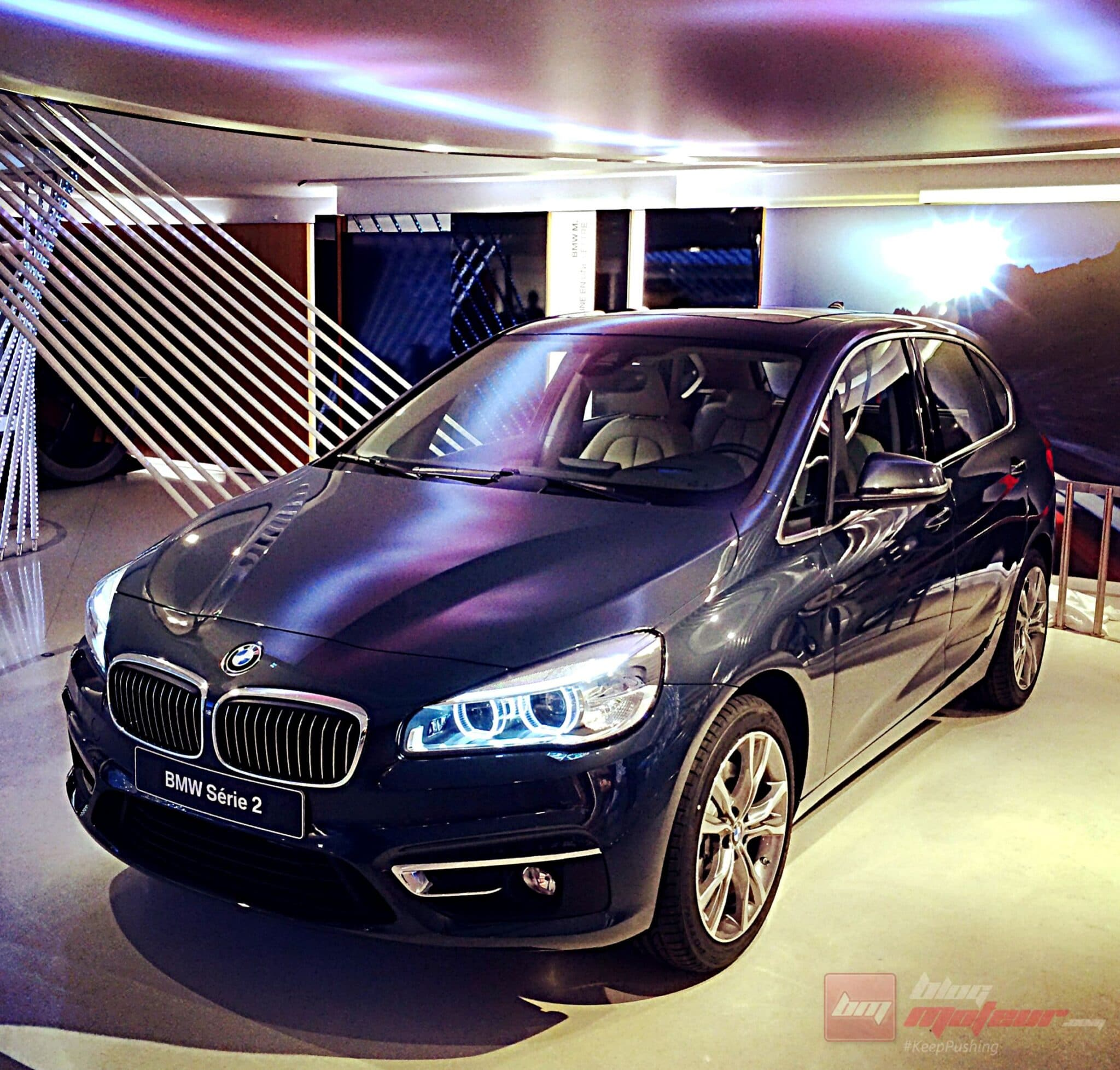 pr sentation des bmw x4 et s rie 2 active tourer. Black Bedroom Furniture Sets. Home Design Ideas