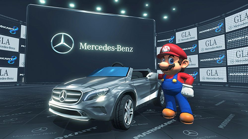 Mario Kart 8 Mercedes GLA