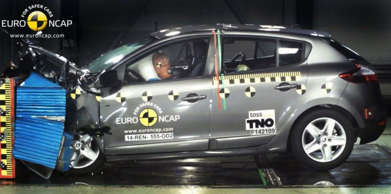 Renault Megane Crash Test