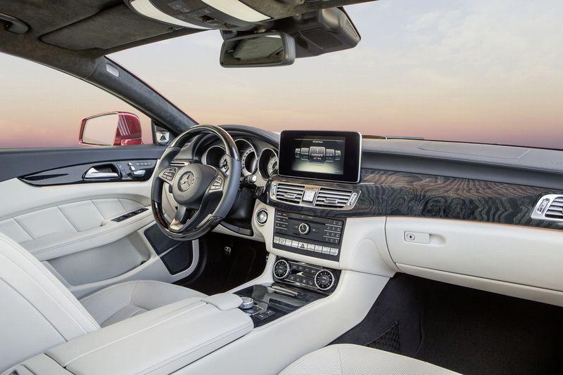 Nouvelle Mercedes CLS 2014