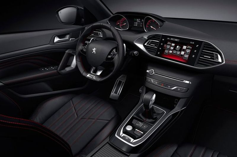 peugeot d voile en images sa nouvelle 308 gt. Black Bedroom Furniture Sets. Home Design Ideas
