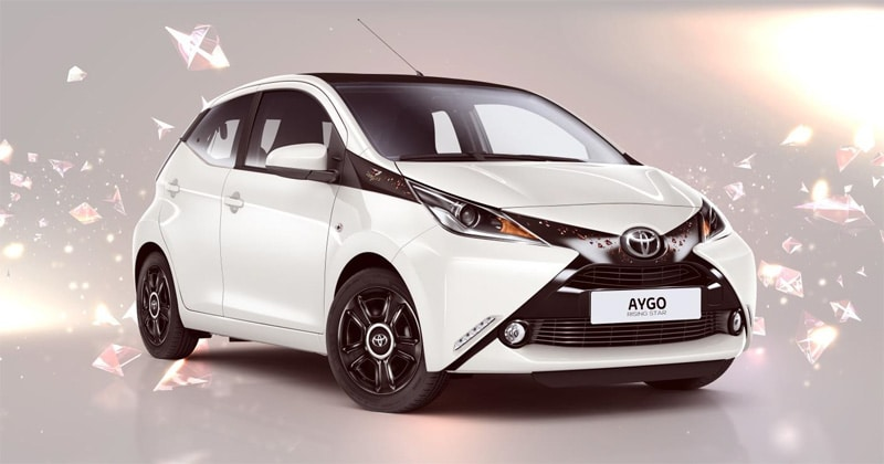 toyota une aygo dition sp ciale rising star. Black Bedroom Furniture Sets. Home Design Ideas