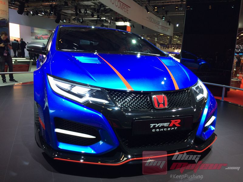 mondial de paris 2014 la honda civic type r en photos. Black Bedroom Furniture Sets. Home Design Ideas