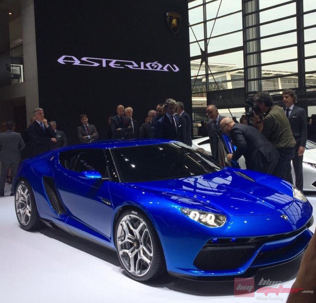 Lamborghini Asterion: Paris 2014 : Lamborghini Asterion LPI 910-4 : Une Hypercar