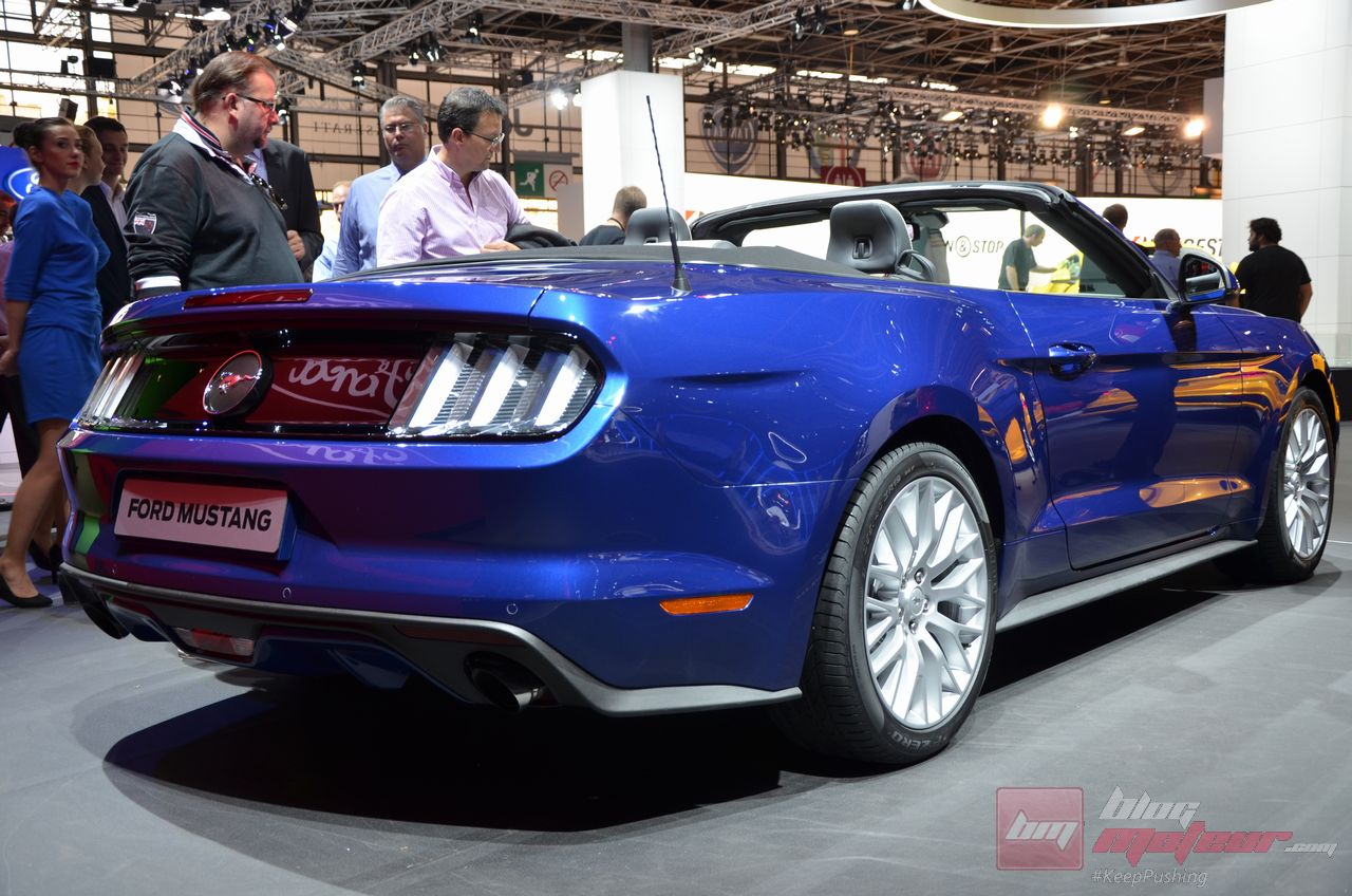 ford mustang 2014 des records de pr commandes. Black Bedroom Furniture Sets. Home Design Ideas