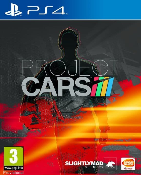 Project Cars PS4 jaquette