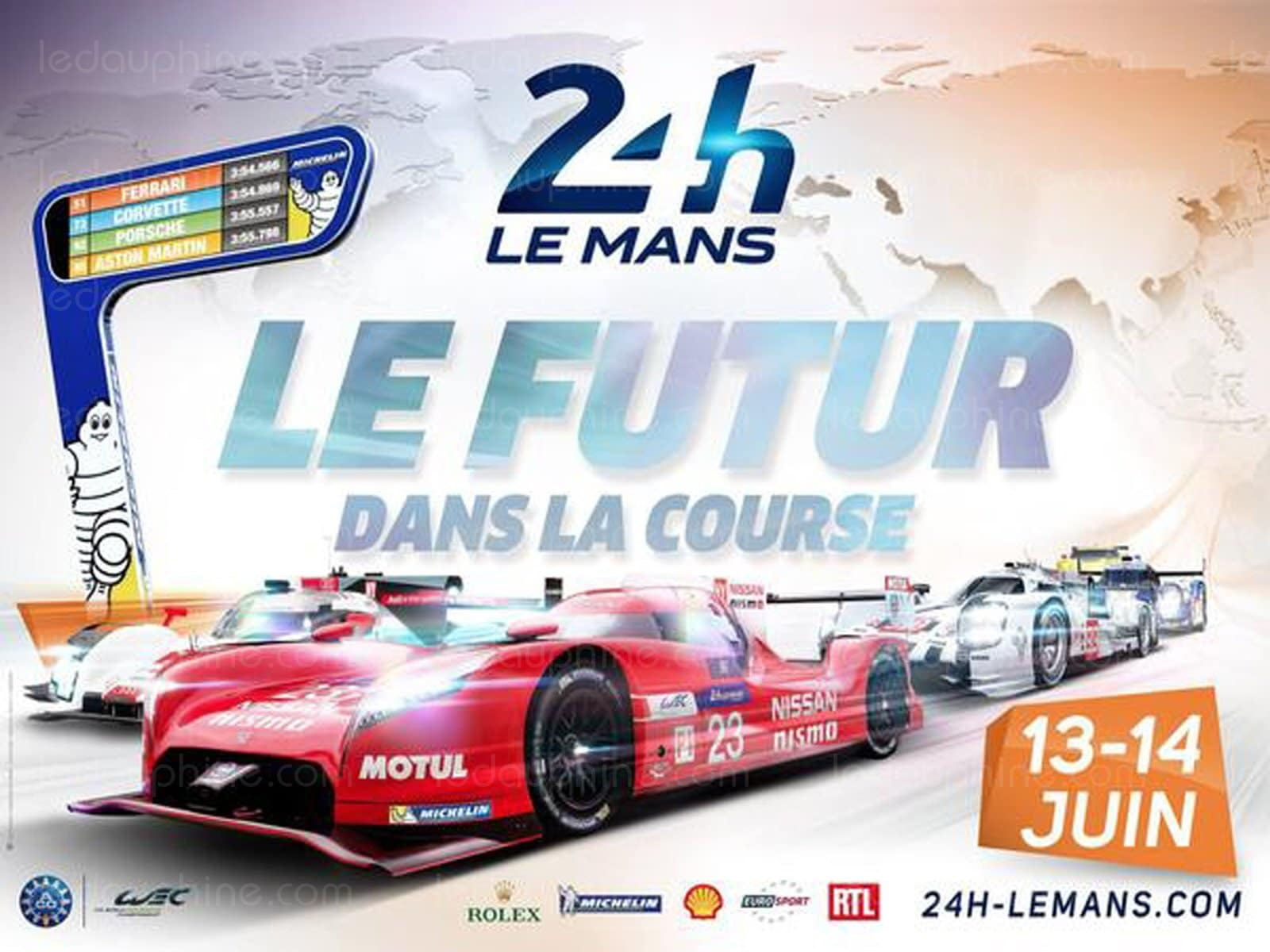 24h du mans 2015 d couvrez la liste des voitures et pilotes engag s. Black Bedroom Furniture Sets. Home Design Ideas