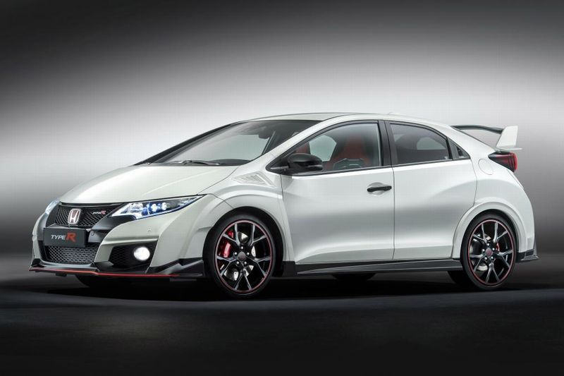 gen ve 2015 honda officialise sa nouvelle civic type r de 310 ch. Black Bedroom Furniture Sets. Home Design Ideas