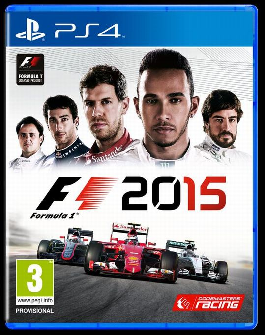F1 2015 cover PS4