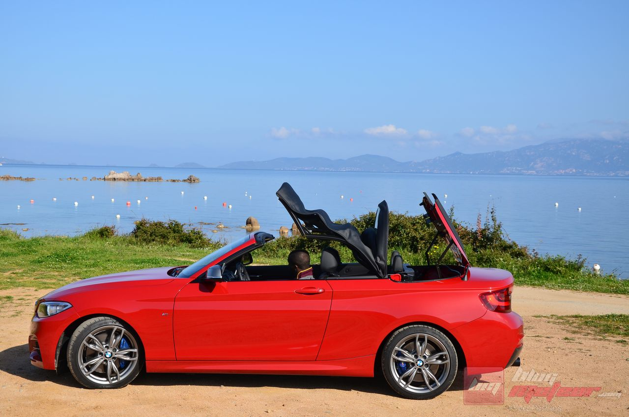essai bmw s rie 2 cabriolet m235i umbeh. Black Bedroom Furniture Sets. Home Design Ideas