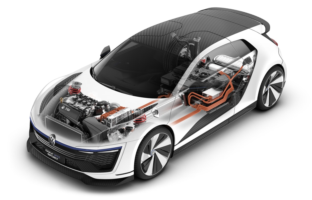 vw golf gte sport concept 400 ch et 280 km h dans une golf. Black Bedroom Furniture Sets. Home Design Ideas