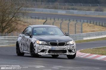 La future BMW M2 donne de la voix sur le Ring