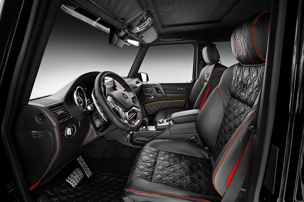francfort 2015 brabus s 39 attaque au mercedes g500 4x4. Black Bedroom Furniture Sets. Home Design Ideas