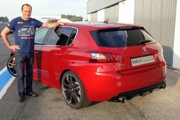 Video : Timmy Hansen au volant de la Peugeot 308 GTI