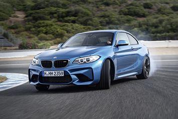 Vidéo : du drift en BMW M2