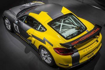 Porsche Cayman GT4 Clubsport : pour la piste