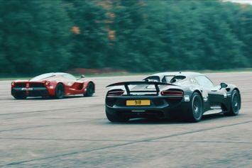 0-300 km/h,  quelle est la supercar la plus rapide : la McLaren P1, La LaFerrari ou la 918?