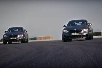 Video : Du drift en BMW M4 GTS