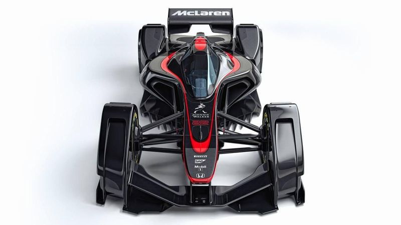 McLaren MP4-X : la Formule 1 du futur ?