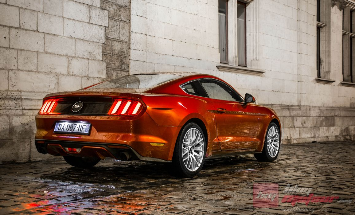 essai ford mustang fastback 2 3l ecoboost 317ch le mythe revisit. Black Bedroom Furniture Sets. Home Design Ideas