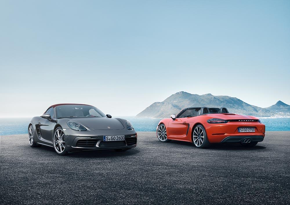 Porsche dévoile en images et en video son nouveau 718 Boxster !