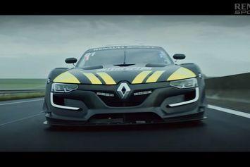 Renault présente la RS01 Interceptor avec Jean Ragnotti