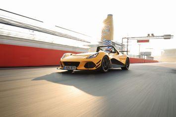 La Lotus 3-Eleven plus rapide qu'une 918 à Hockenheim