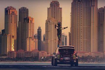 Vidéo : Ken Block à Dubaï pour son Gymkhana 8 en Fiesta RX de 650ch