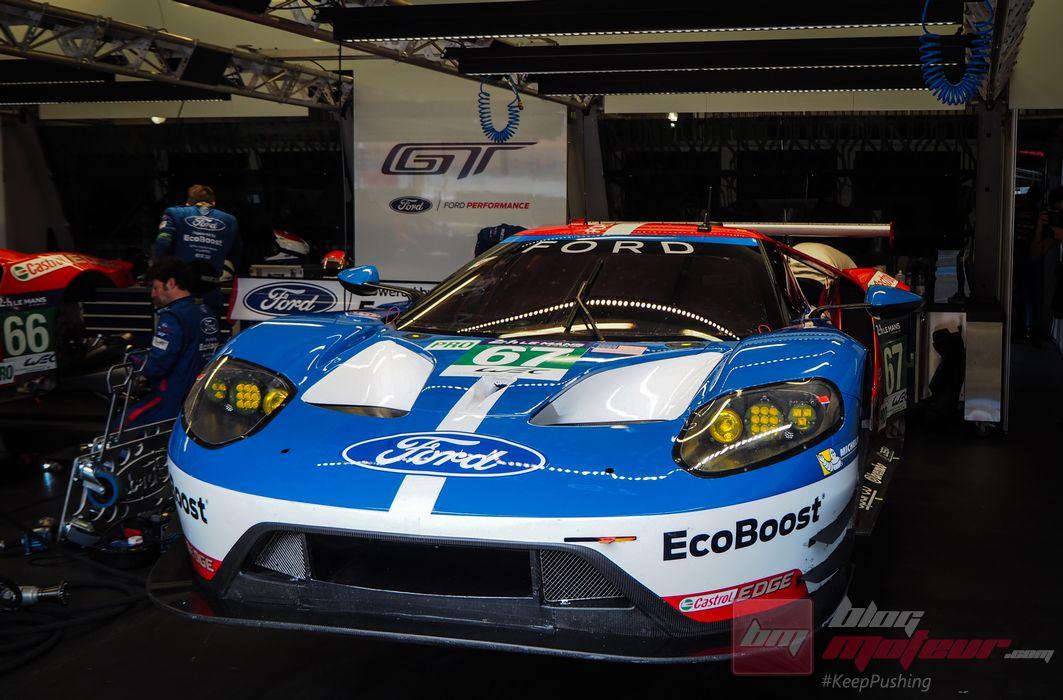 Ford de retour aux 24 Heures du Mans avec sa GT, 50 années après son triplé historique!