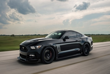 Ford Mustang Hennessey 25TH Anniversary Edition HPE 800 : Back in Black!