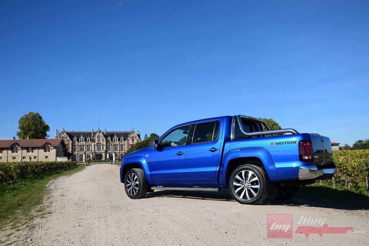 essai vw amarok v6 le pick up 5 toiles. Black Bedroom Furniture Sets. Home Design Ideas