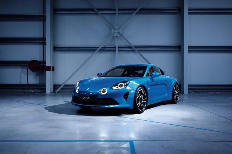 Renault : va présenter l'Alpine A110 au Salon de Genève