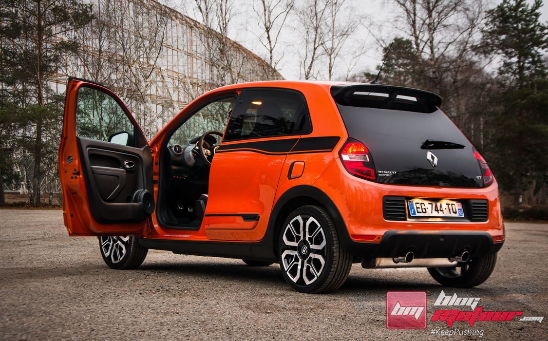 essai renault twingo gt vraiment by renault sport. Black Bedroom Furniture Sets. Home Design Ideas