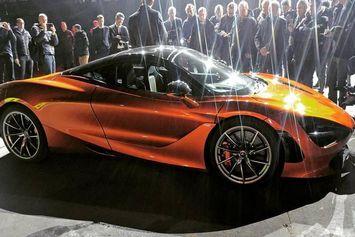 McLaren 720s : 720 chevaux pour son nouveau V8