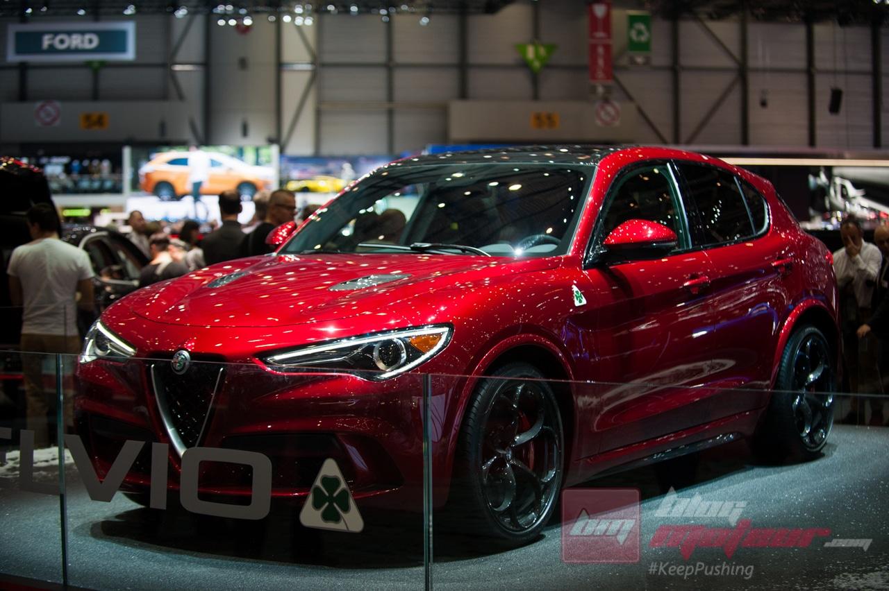 Geneve Alfa Romeo Selvio quadrifoglio