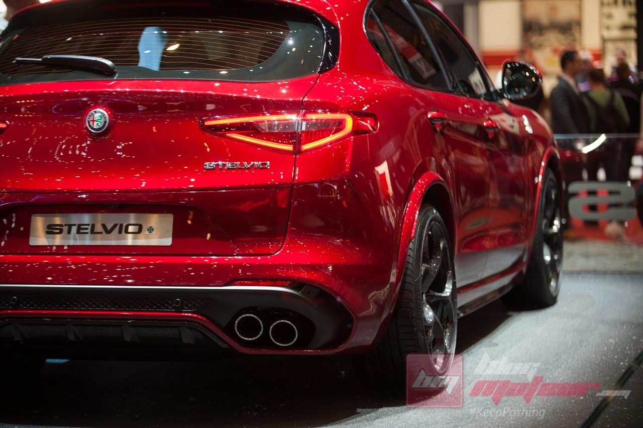 Geneve Alfa Romeo Stelvio quadrifoglio