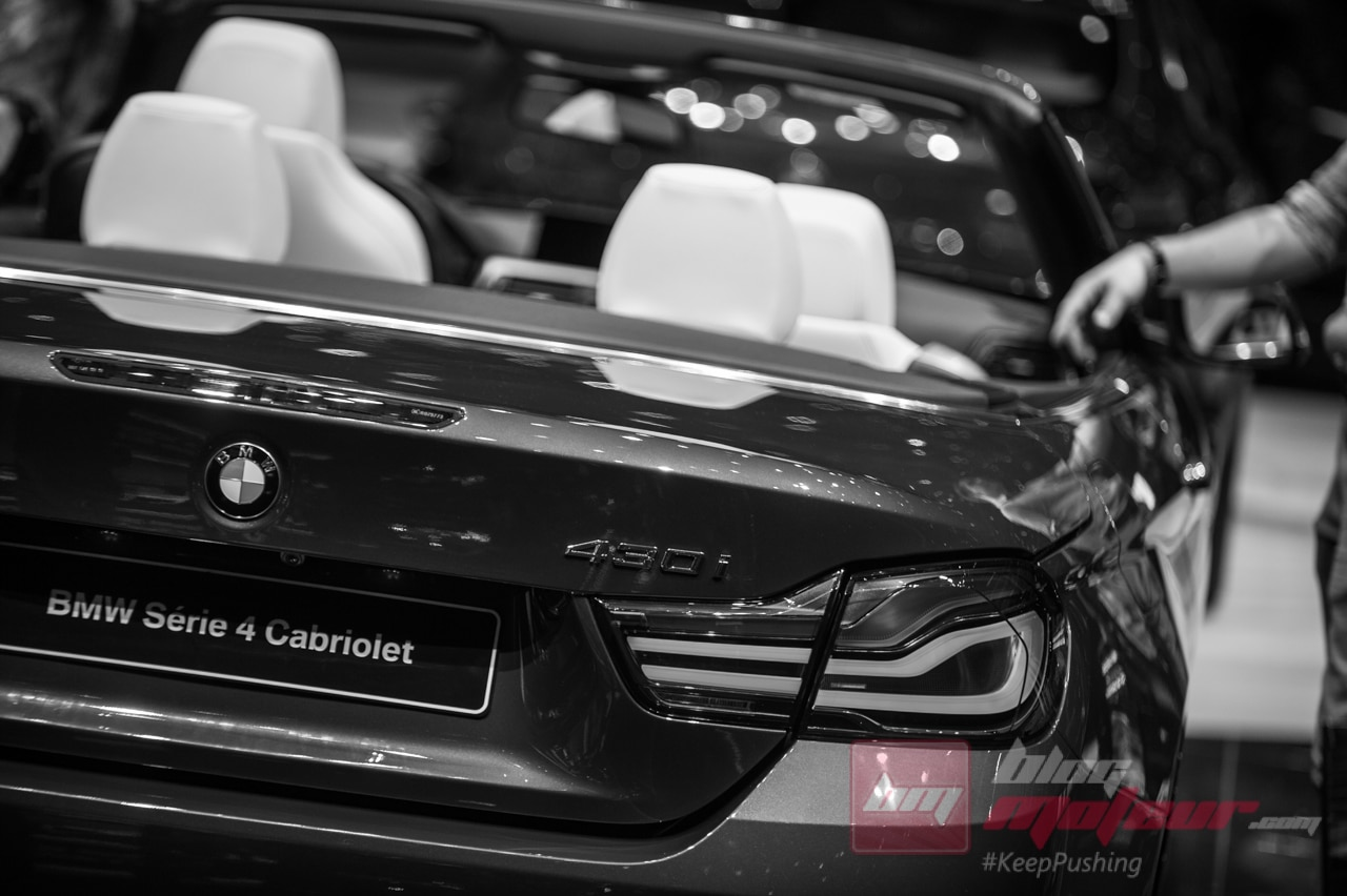 Geneve BMW serie 4 cabriolet